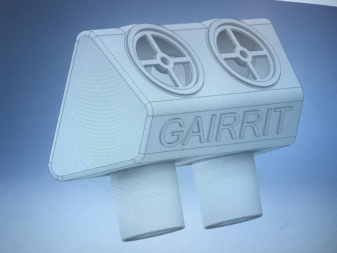 Maskenverteiler von GAIRRIT