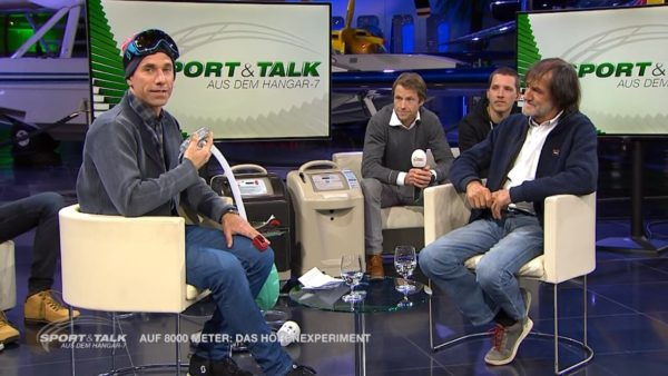 GAIRRIT im Hangar-7 Sport & Talk