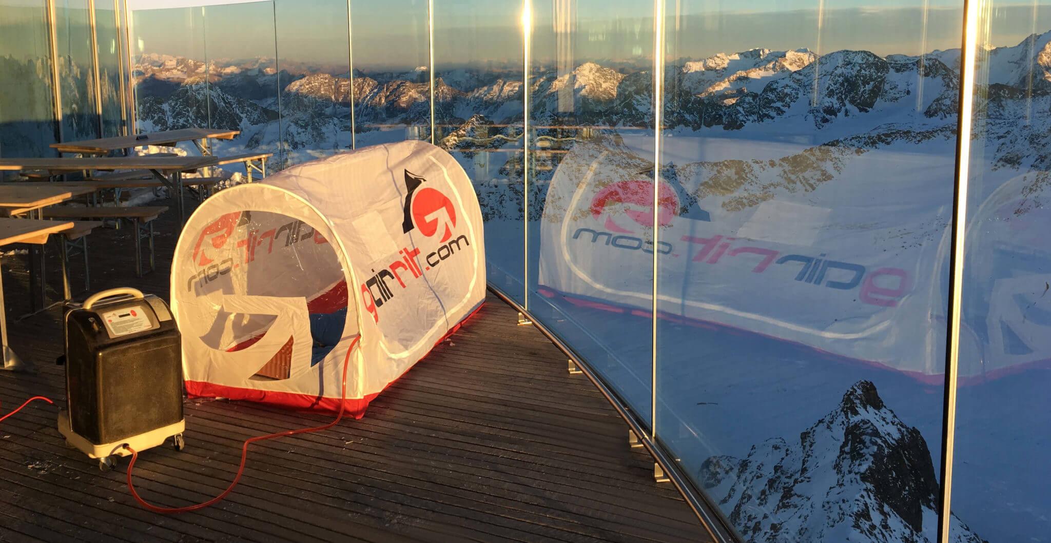 GAIRRIT Höhentraining mit Zelt und Höhengenerator